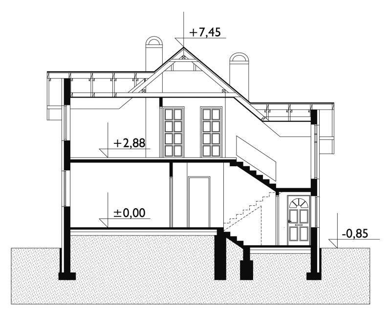 Проект дома Агава (E-8)
