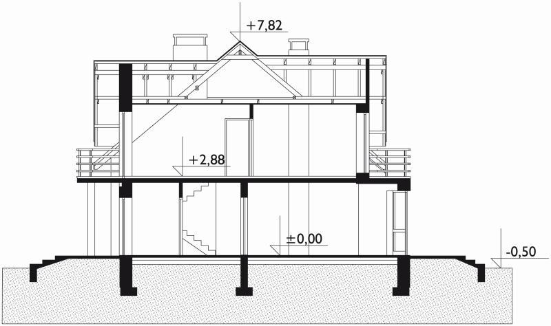 Проект дома Акорд (E-12)