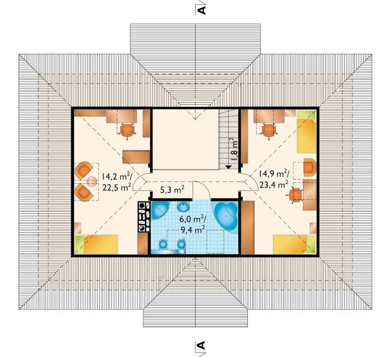 Проект дома Александрия Тура (E-1096)