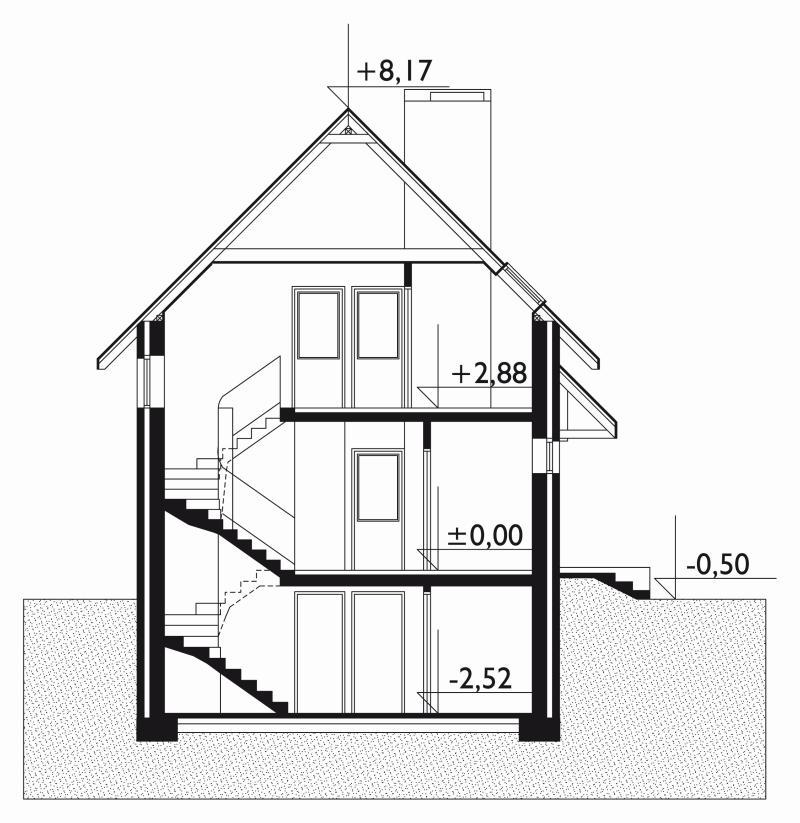 Проект дома Альфа (E-16)