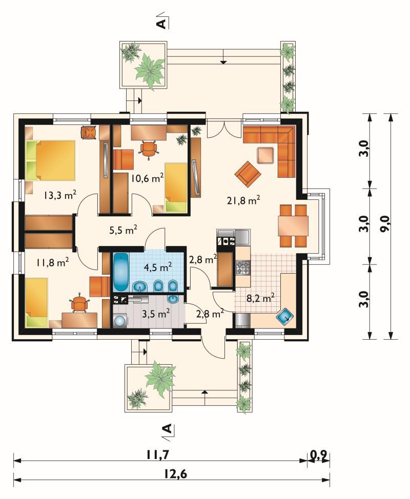 Проект дома Аида (E-1138)
