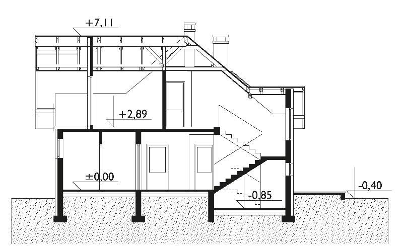 Проект дома Алка (E-18)