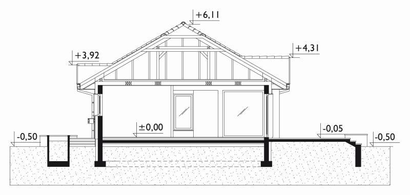 Проект дома Аллегро (E-19)