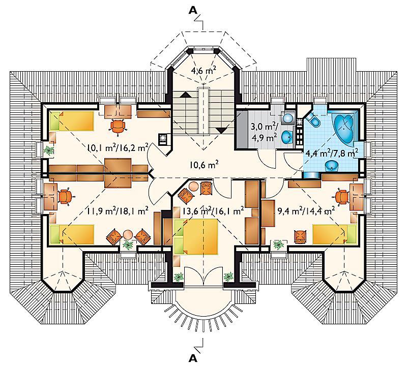 Проект дома Амадеус (E-582)