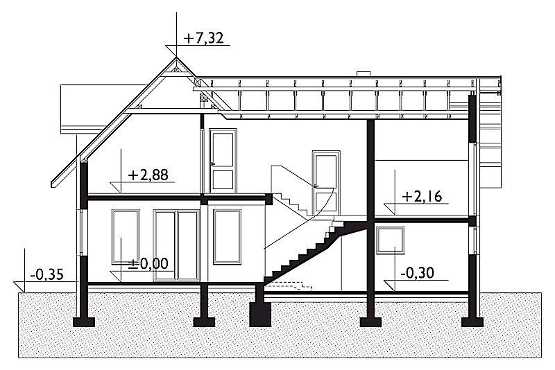 Проект дома Амариллис (E-21)