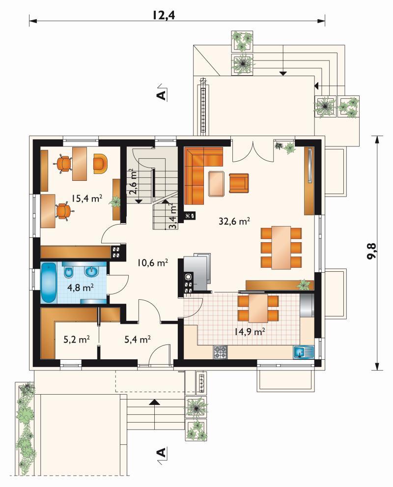 Проект дома Аннушка (E-1249)