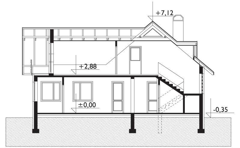 Проект дома Арония (E-36)