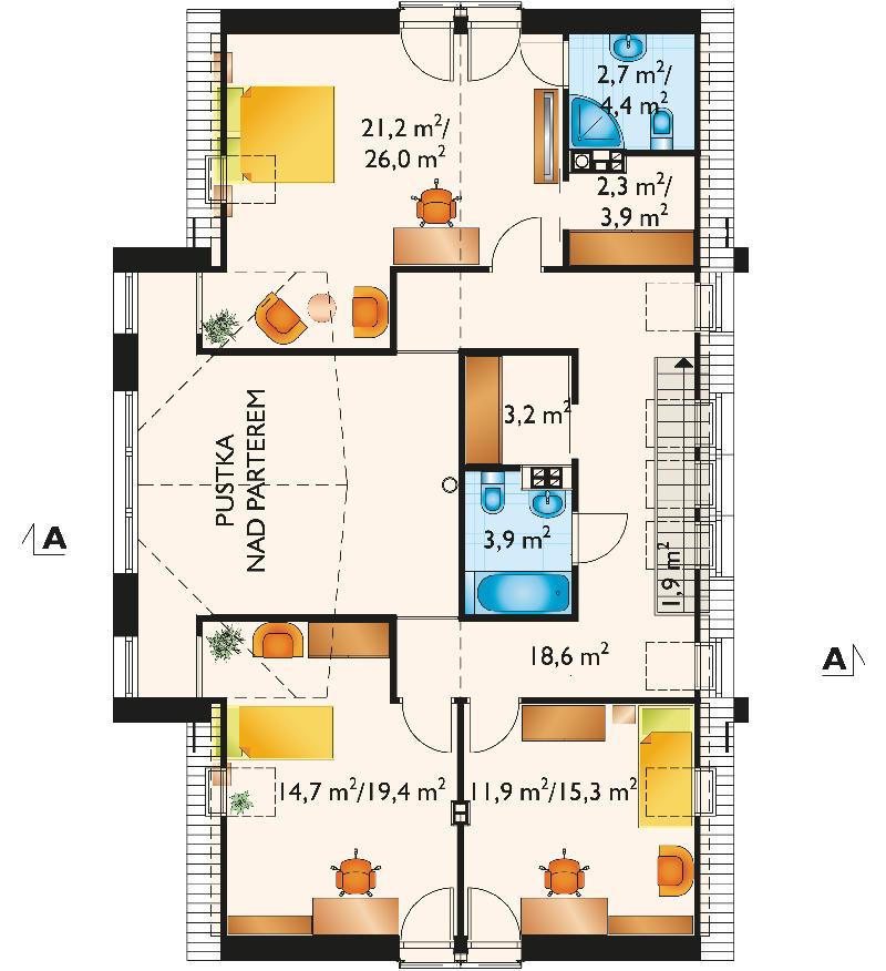 Проект дома Астрида (E-1100)