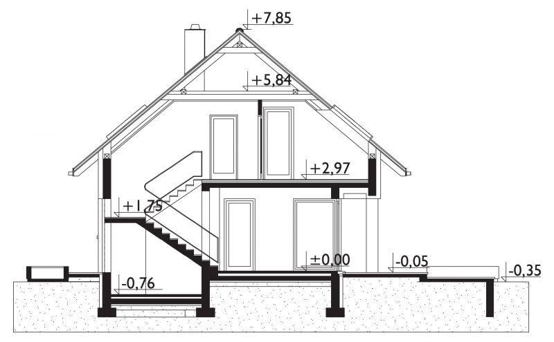 Проект дома Атоc (E-41)