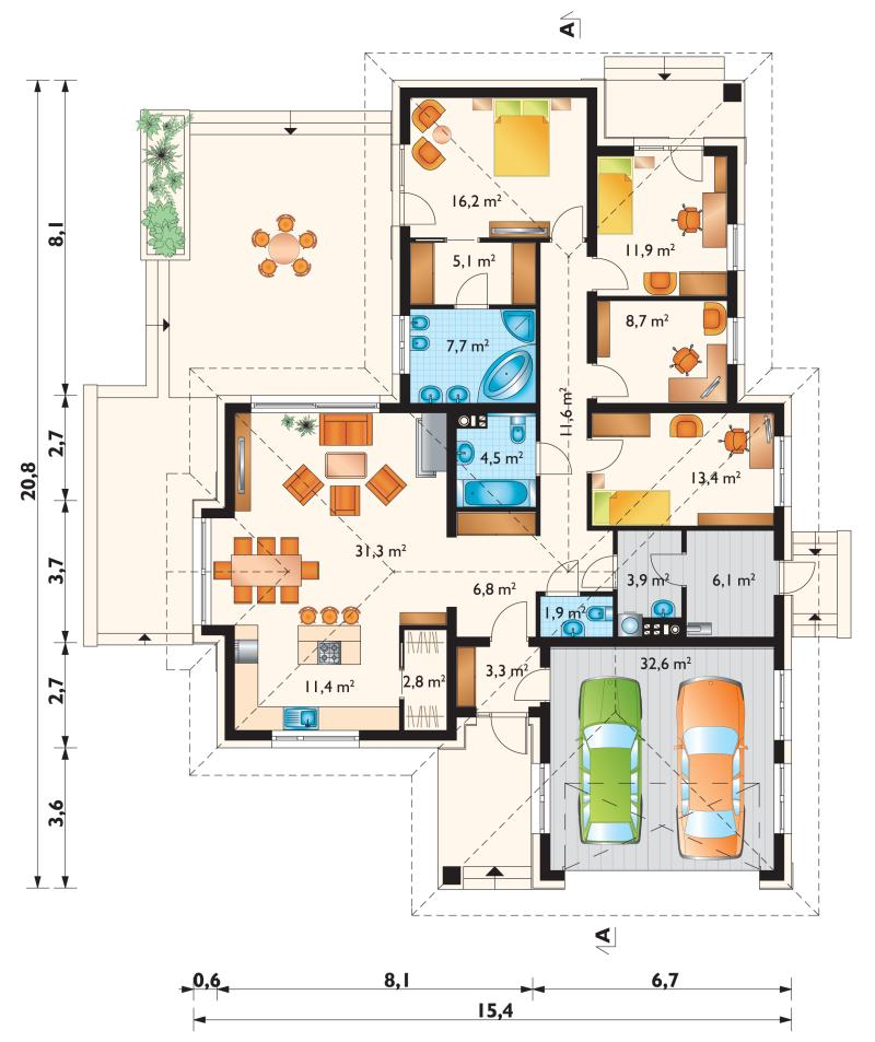 Проект дома Аврелий Поло (E-1282)