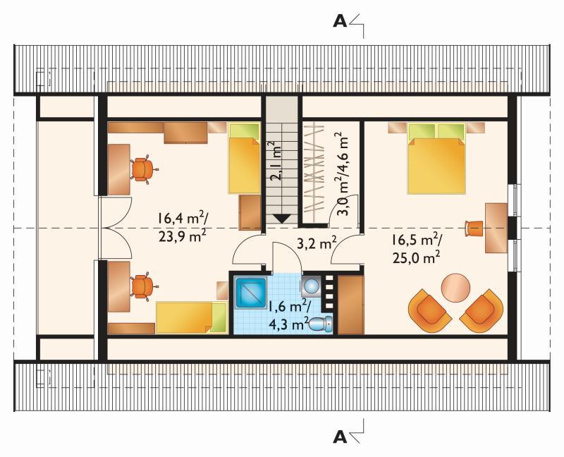 Проект дома Баба Яга-2 (E-47)
