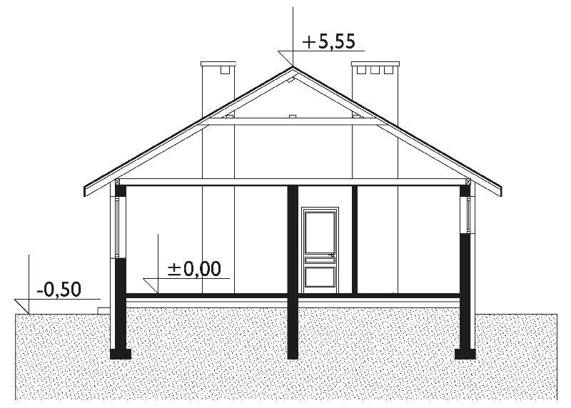 Проект дома Баба-Яга (E-46)