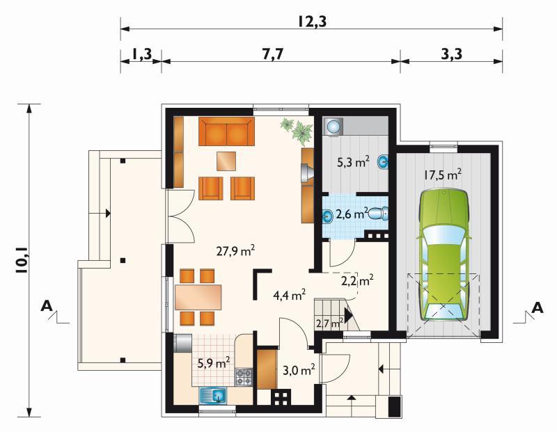 Проект дома Бальбина (E-49)