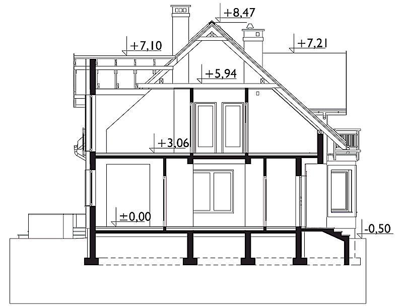 Проект дома Бальтазар Нова (E-1090)