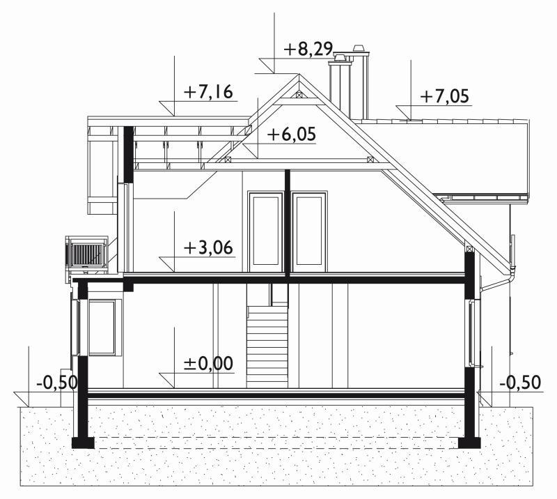 Проект дома Бальтазар Солис (E-1248)