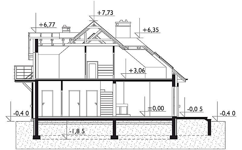 Проект дома Бенон-2 (E-954)