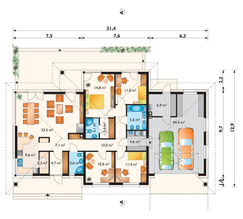 Проект дома Вереника (E-59)