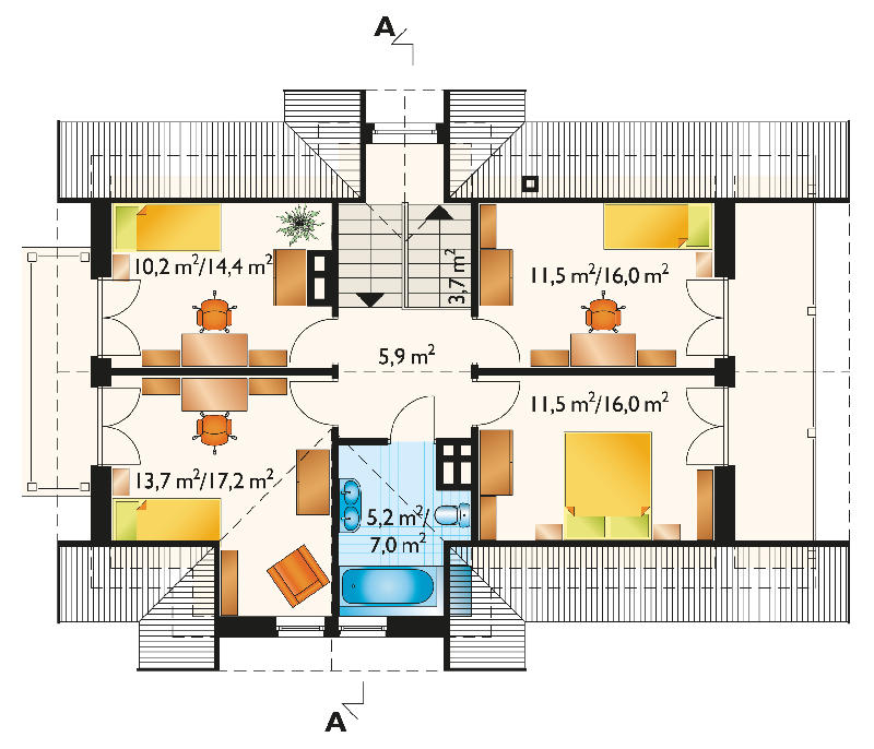 Проект дома Бериллий (E-60)