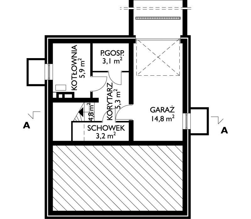 Проект дома Бегония (E-62)