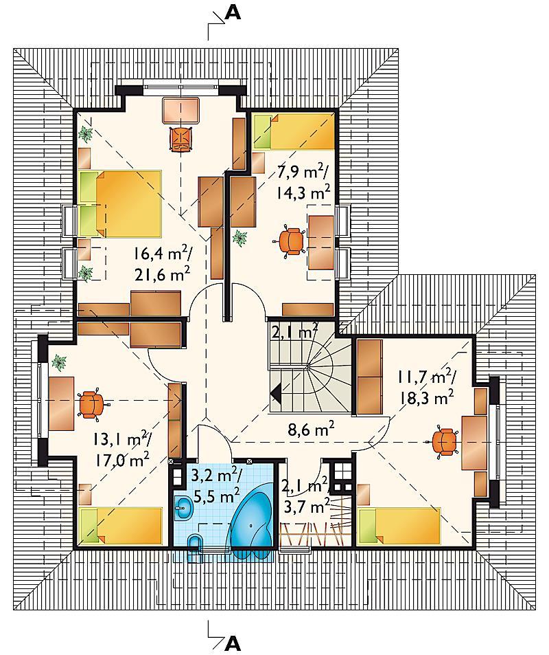 Проект дома Белка (E-63)