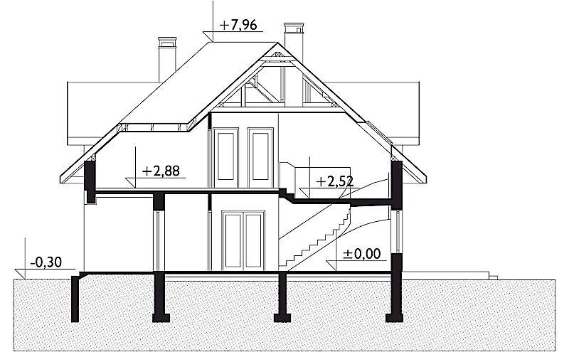 Проект дома Богна (E-67)