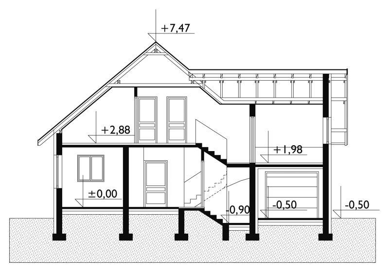 Проект дома Черника (E-72)