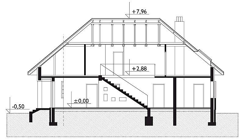 Проект дома Клеопатра (E-74)