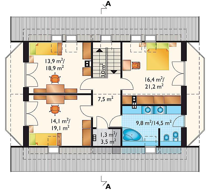 Проект дома Бромба (E-77)