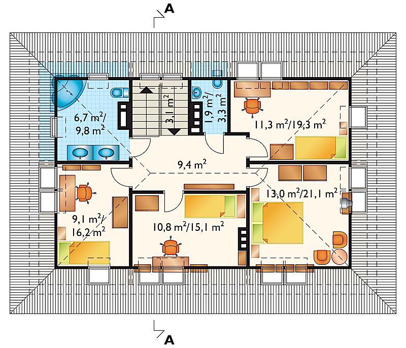 Проект дома Бриза (E-78)
