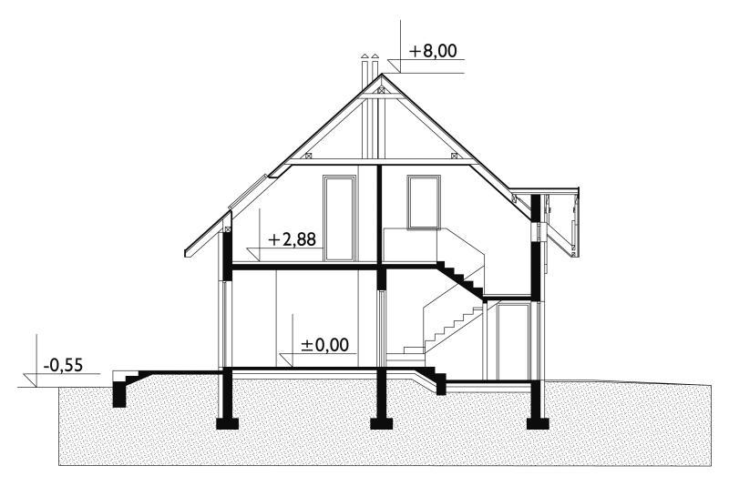 Проект дома Рассвет (E-79)
