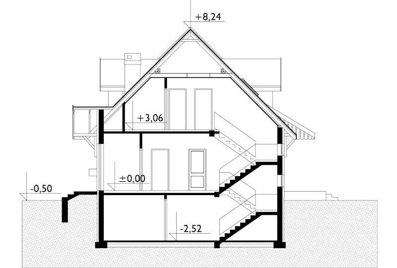 Проект дома Берёза (E-80)