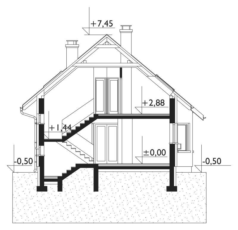Проект дома Лещина Рекс (E-957)