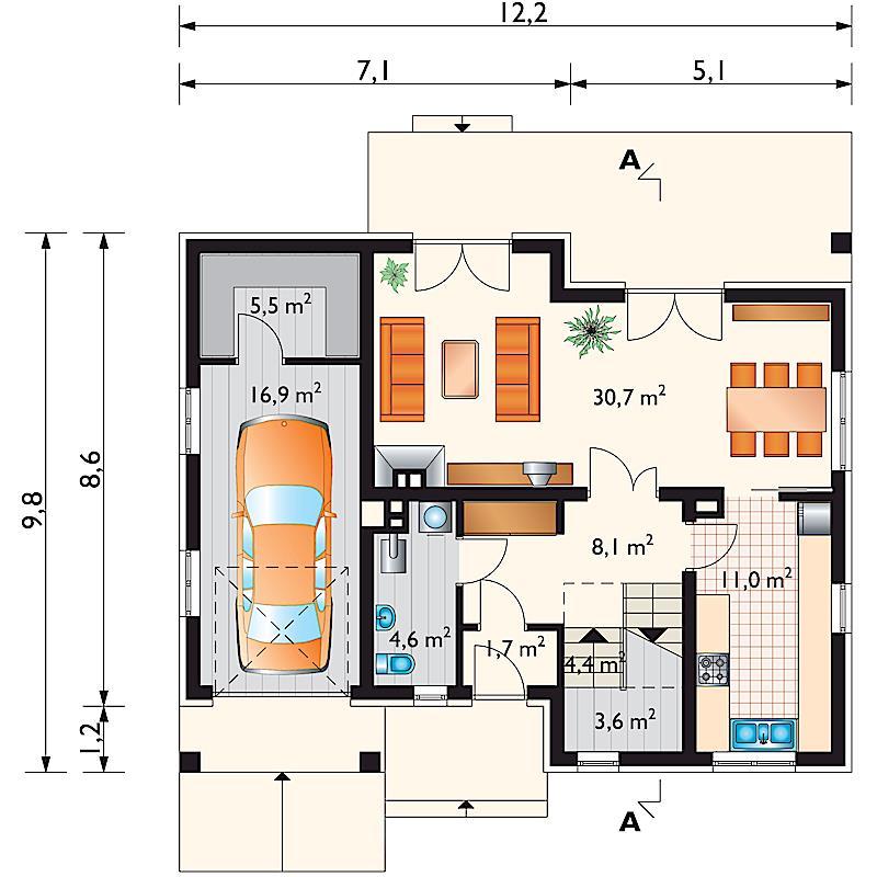 Проект дома Стелла (E-83)