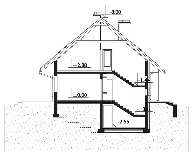 Проект дома Сосна Рекс (E-918)