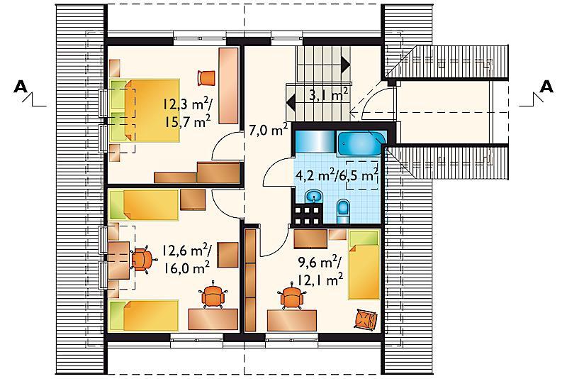 Проект дома Камыш (E-91)