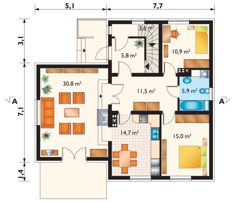 Проект дома Цикада (E-93)