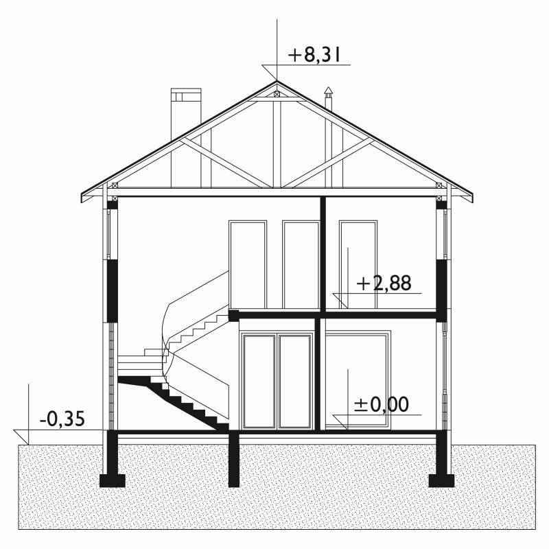 Проект дома Алебастр (E-97)