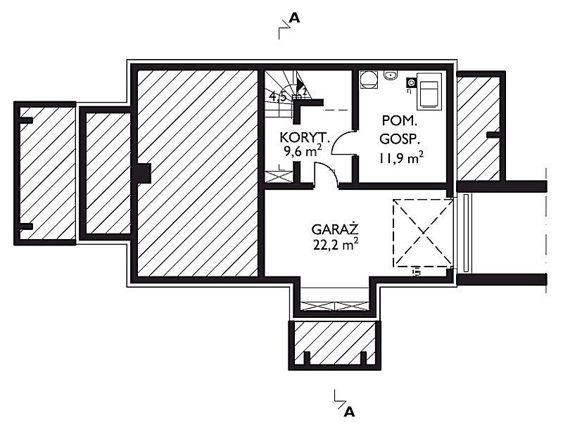Проект дома Сидор (E-585)