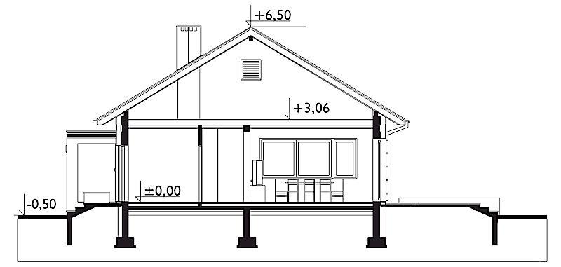 Проект дома Дагмара (E-1265)
