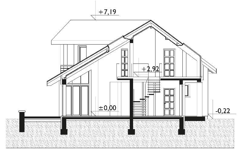 Проект дома Давид (E-743)