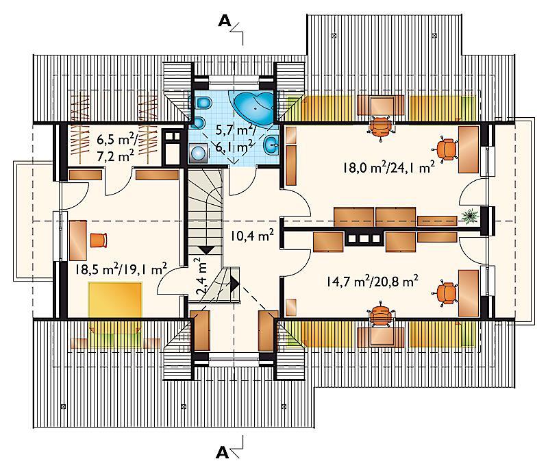 Проект дома Дельта (E-108)