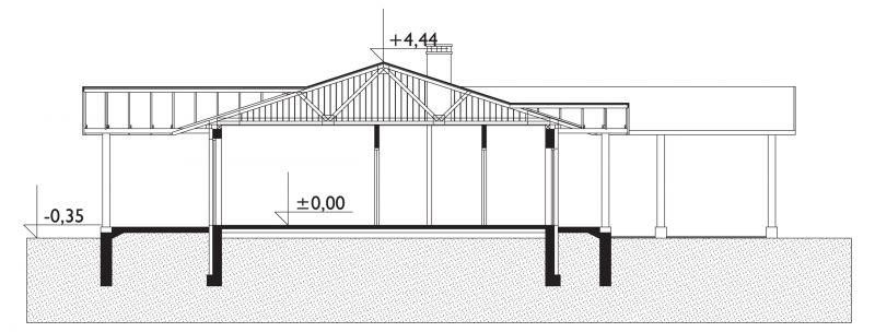 Проект дома Домино (E-116)