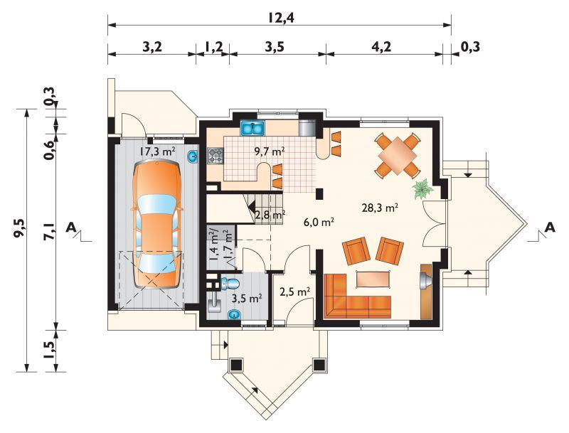 Проект дома Дроп-Дуо (E-121)