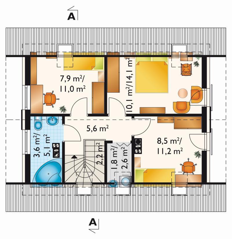 Проект дома Дропс (E-1198)
