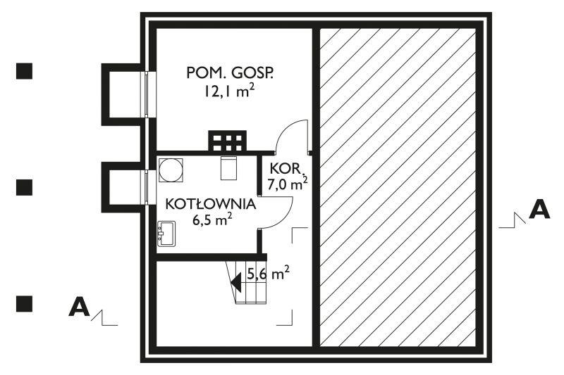 Проект дома Большой Гном (E-127)