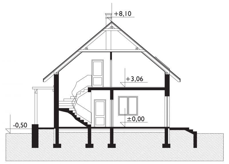 Проект дома Амбиция-2 (E-699)