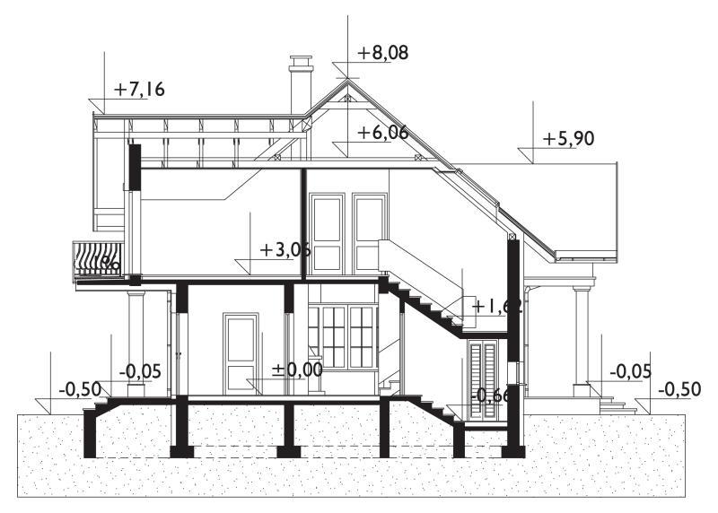 Проект дома Дымша (E-847)