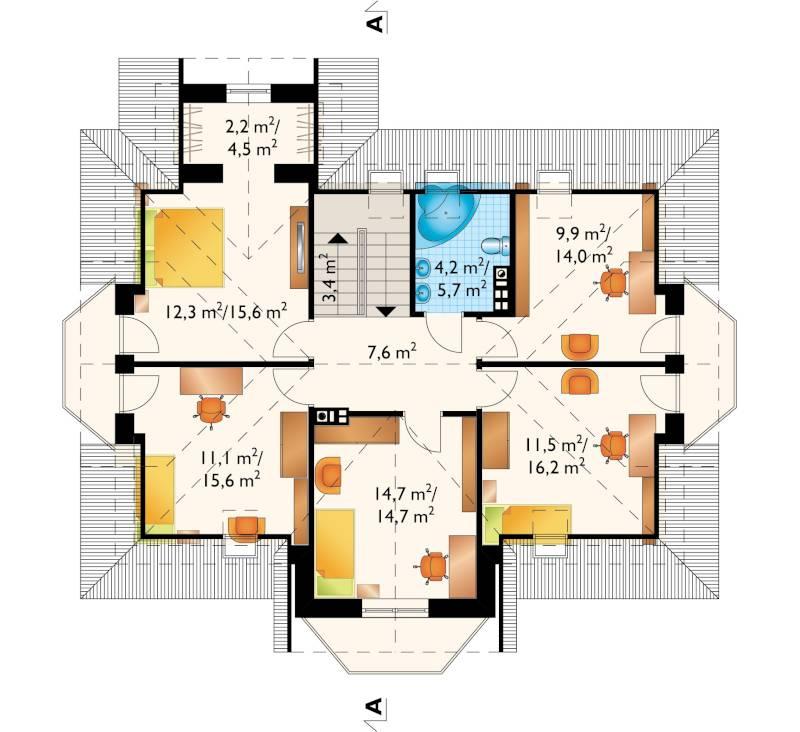 Проект дома Дымша Каро (E-867)