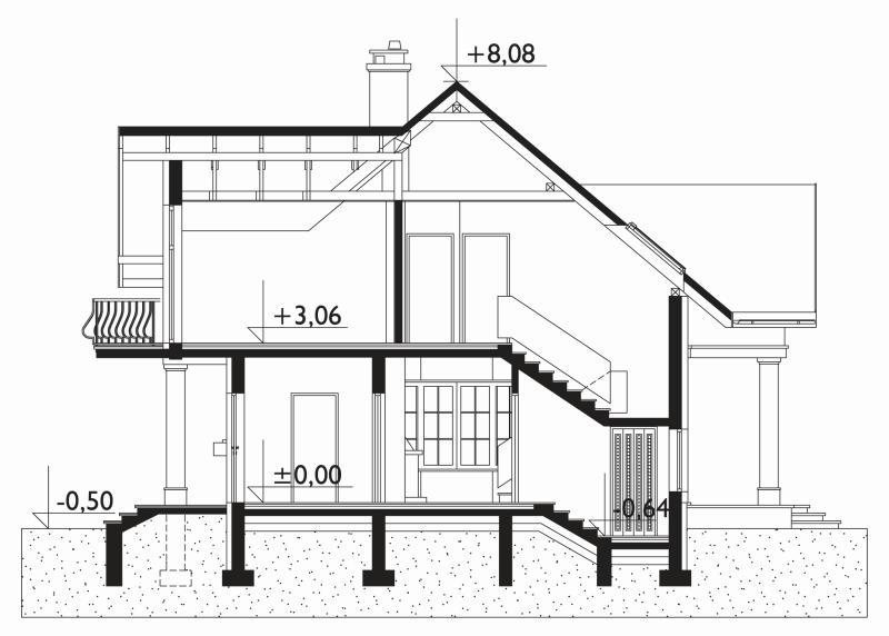 Проект дома Дымша Поло (E-939)