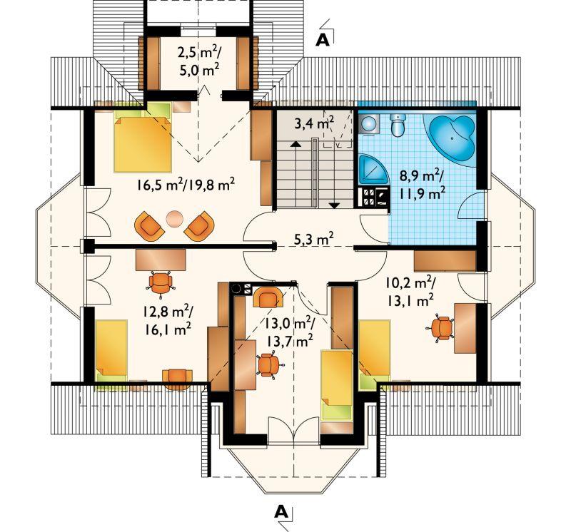 Проект дома Дымша Рекс (E-858)